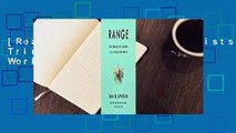 [Read] Range: Why Generalists Triumph in a Specialized World  For Kindle
