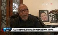Permadi Ingin Lengserkan Joko Widodo, Gerindra: Pernyataannya Tak Wakili Partai