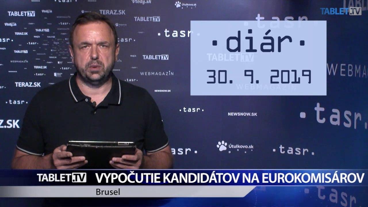 DIÁR: V EP pokračuje vypočúvanie kandidátov na eurokomisárov, dnes je na rade aj M. Šefčovič