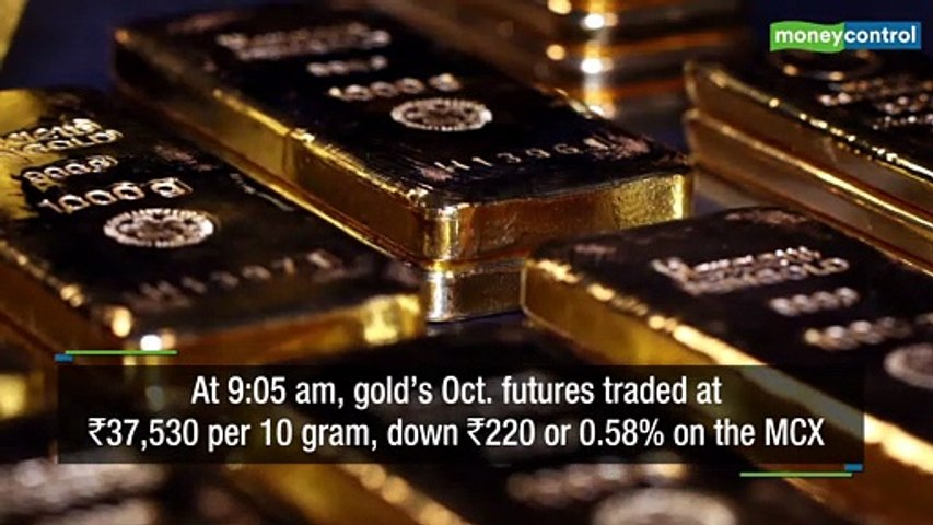 Gold price today: Yellow metal falls amid easing fears of trade war escalation