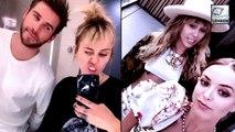 Miley Cyrus Shades Kaitlynn Carter & Liam Hemsworth In A Cryptic Post?