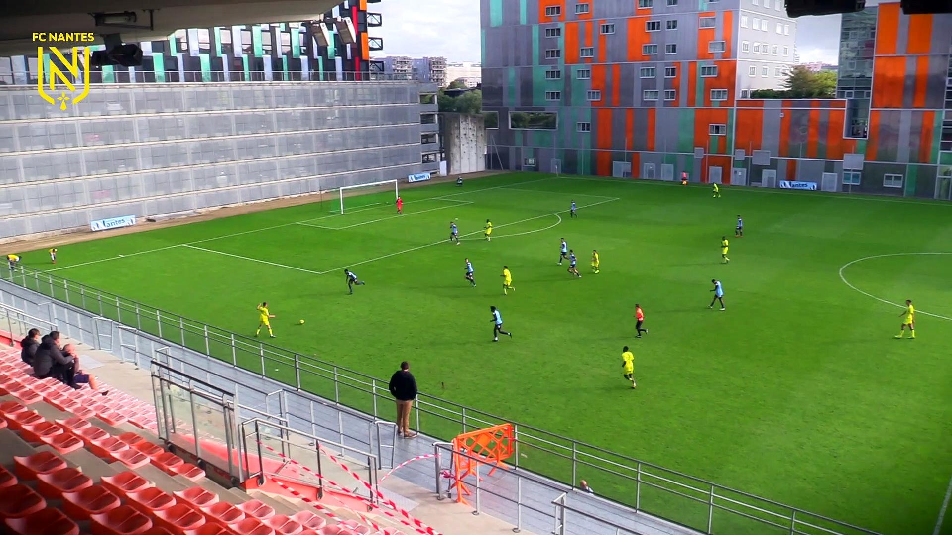 U19. Les buts de FCN - Tours FC (10-0)
