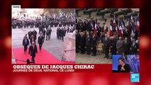 Hommage à Jacques Chirac : Claude Chirac est venue remercier les Français