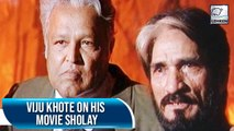 Viju Khote's Exclusive Interview On Sholay Completing 25 Years | Flashback Video