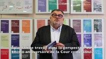 """Présentation de la nouvelle étude de la Fondation pour l'innovation politique """"La Cour européenne des droits de l'homme, protectrice critiquée des libertés invisibles"""" par Jean-Luc Sauron"""