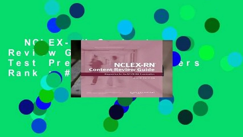 NCLEX-RN Content Review Guide (Kaplan Test Prep)  Best Sellers Rank : #5
