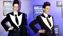 Pregnant Kalki Koechlin Flaunts Baby Bump At GQ Awards Red Carpet