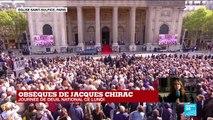 Obsèques de Jacques Chirac : Bernadette Chirac absente à la messe pour des raisons de santé