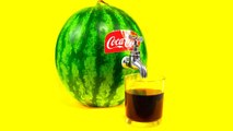 Hacks! How to make Coca Cola out of a Watermelon
