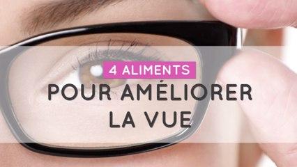 4 aliments pour améliorer la vue