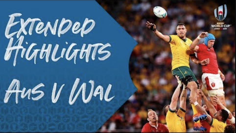 Extended Highlights : Australia v Wales – Rugby World Cup 2019