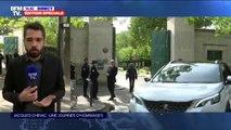 La famille de Jacques Chirac se recueille en privé au cimetière du Montparnasse