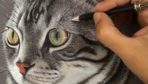 This artist makes hyperrealistic pet portraits
