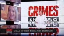 """Cécile, ancienne candidate de télé-réalité, lance un appel en direct dans """"Crimes"""" sur NRJ 12 pour retrouver sa fille de 13 ans """"droguée qui se prostitue à Paris""""é"""