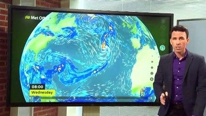 Is Hurricane Lorenzo moving towards Northern Ireland?