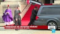 Obsèques de Jacques Chirac : une minute de silence observée dans les services publics
