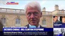 """Il va me manquer, vraiment."" L'émotion de Bill Clinton, venu rendre hommage à Jacques Chirac"