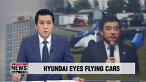 South Korea's Hyundai Motor Group hires ex-NASA researcher to develop flying cars