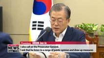Pres. Moon orders prosecution to draw up plan for its own reform