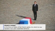 France says goodbye to former president Jacques Chirac