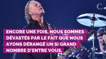 Le chanteur de Metallica de nouveau envoyé en cure de désintoxication : le groupe annule sa tournée