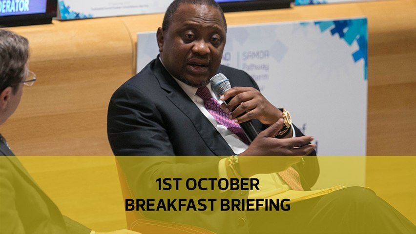 Uhuru's new debt move | No recovery in ferry tragedy | Nairobi double parking fee: Your Breakfast Briefing