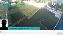 Own goal of Barnabe MELAINE (0-4)