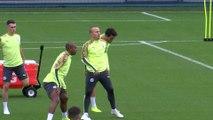 Manchester City training pre Zagreb