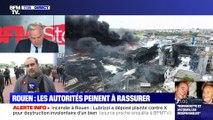 Incendie de l'usine Lubrizol à Rouen: les autorités peinent à rassurer (1/2) - 30/09