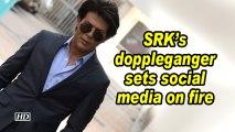 SRK's doppleganger sets social media on fire