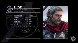 Profilo personaggio: Thor