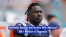 Antonio Brown Prepares For A Battle With The NFL