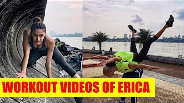 Hot and inspiring workout videos of Erica Fernandes