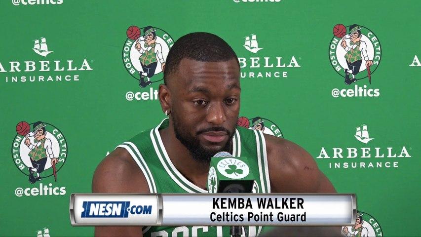 Kemba Walker 2019 Celtics Media Day Press Conference