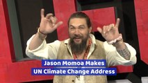 Jason Momoa Addresses The United Nations