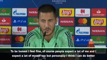 Real's Hazard knows he can do better