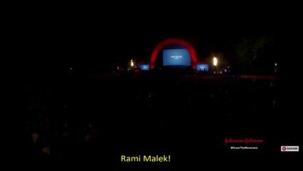 Rami Malek apresenta o Show de Queen + Adam Lambert no Global Citizen Festival - 28/09/19 - legendado