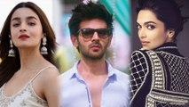 Alia Bhatt, Deepika Padukone, Kartik Aaryan TOGETHER In A Film ? | Watch To Know