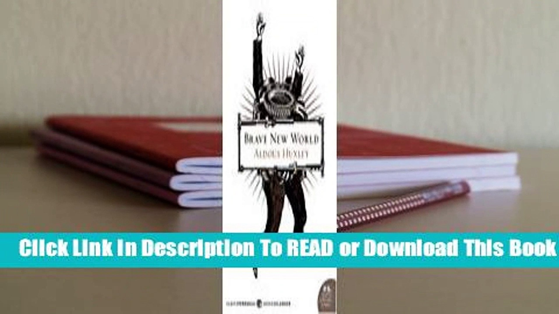 Full E-book Brave New World  For Kindle