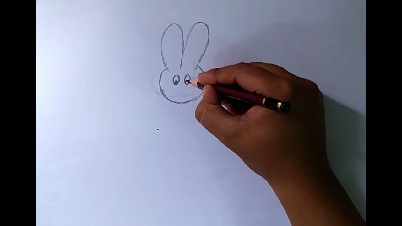 how to draw rabit