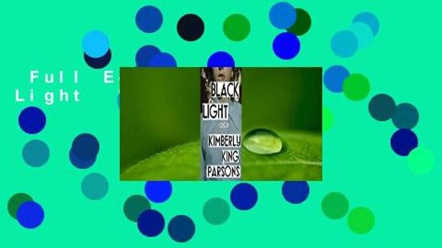 Full E-book  Black Light  For Kindle