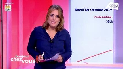 Olivier Faure - Public Sénat mardi 1 octobre 2019