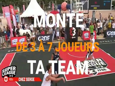 3x3 Creuse Basket Ball