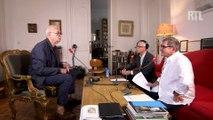 Patrick Modiano parle sur RTL de son bureau