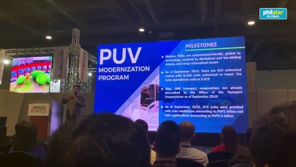 DOTr: Gov't to push through with modernization of PUVs