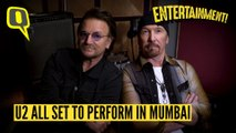 U2's Bono and The Edge Discuss Their Plans for Mumbai