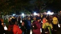 Light Up Leeds 280919 walkers setting off