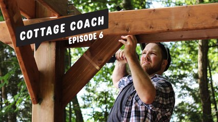 Cottage Coach Episode 6: Sprucing up a waterfront pergola