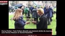 Harry Potter : Tom Felton dévoile un moment drôle du tournage avec Emma Watson et Daniel Radcliffe (vidéo)