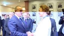 Dışişleri Bakanı Çavuşoğlu, Avrupa Konseyi Genel Sekreteri Buric ile görüştü - STRAZBURG